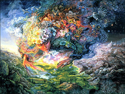 Aequinotium di Primavera e la festa di Ostara;  il tempo del giorno si fonde con quello della notte