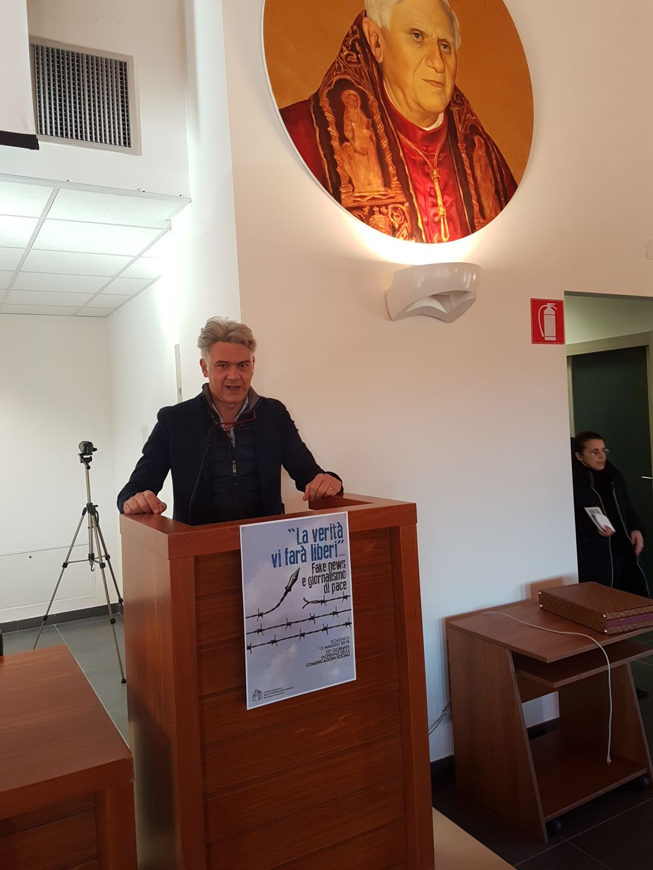 Giornalismo di pace e fake news – L'Aquila Istituto Superiore di Scienze Religiose della Pontificia Università Lateranense – 30/01/2018