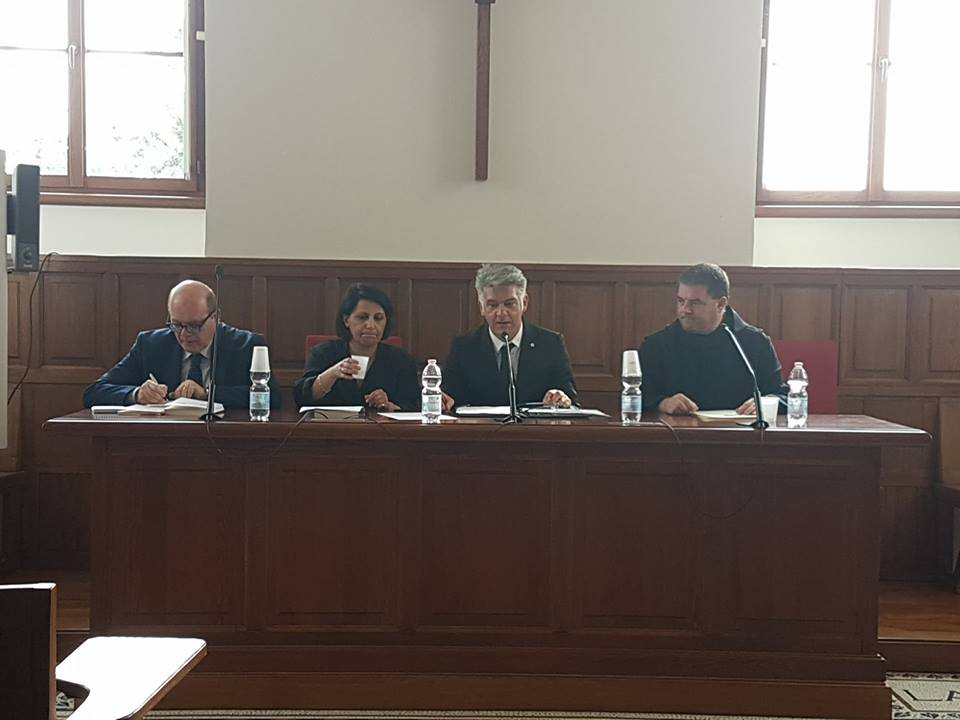 """Pontificio Ateneo Sant'Anselmo Roma – Presentazione opera """"Nudità dell'essere"""" 27/04/2018"""