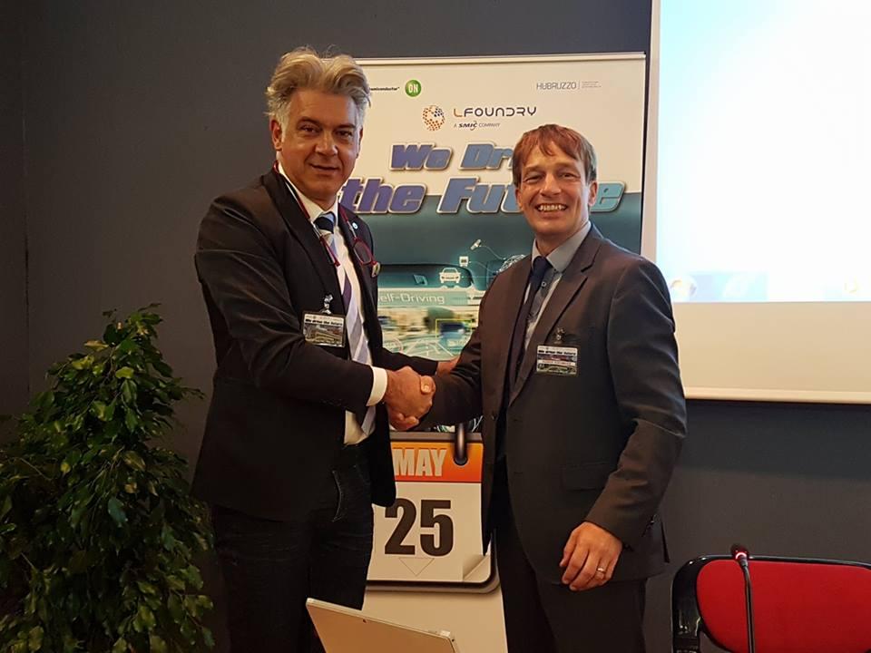 """Innovazione tecnologica """"We drive the future"""", confronto a convegno con Rainer Kaesmaier LFoudry Avezzano"""