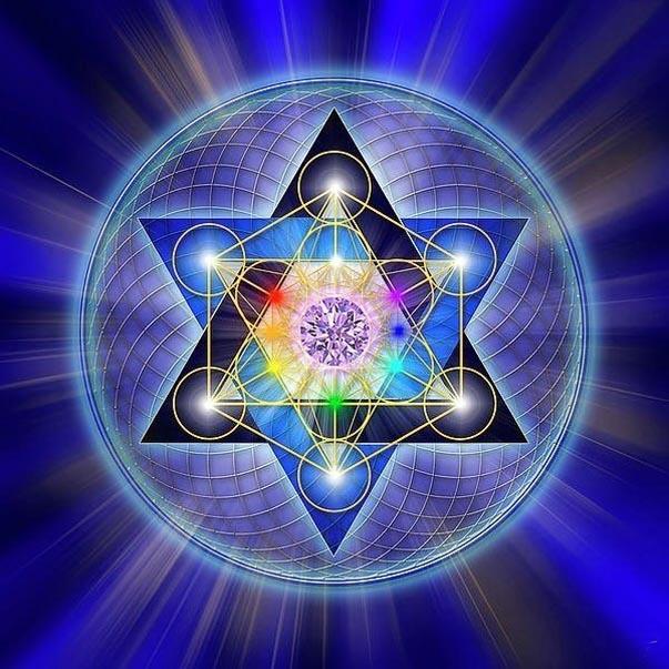 La simbologia dell'Esagramma, stella di unione tra gli elementi del fuoco e dell'acqua